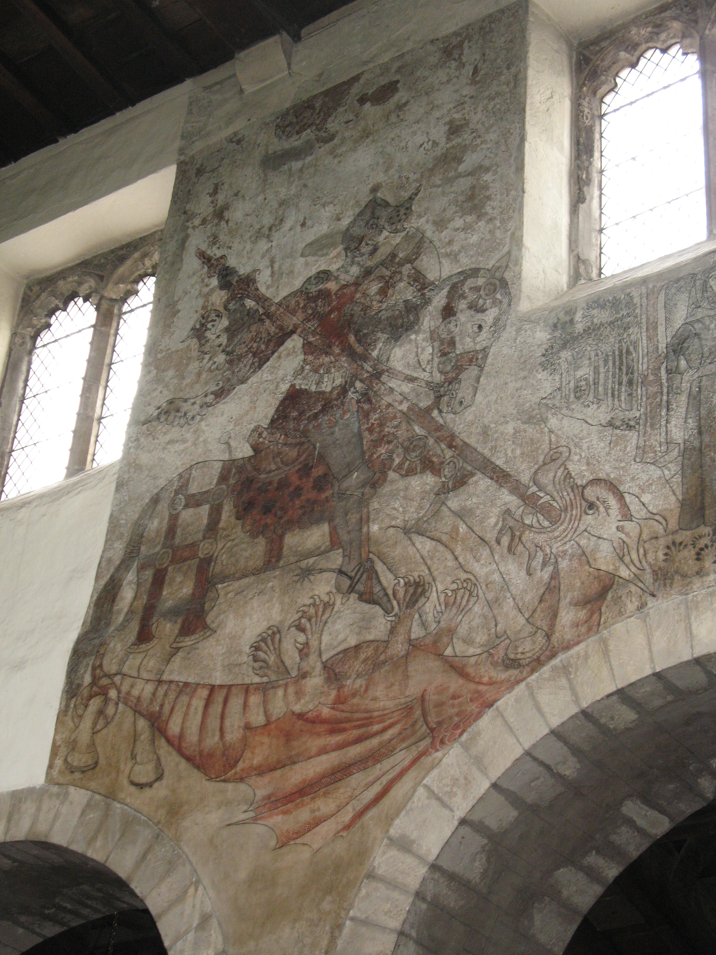 Medieval wall paintings in churches elizabeth ashworth author st amipublicfo Image collections