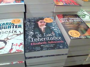 My book in Waterstones (Trafford Centre)