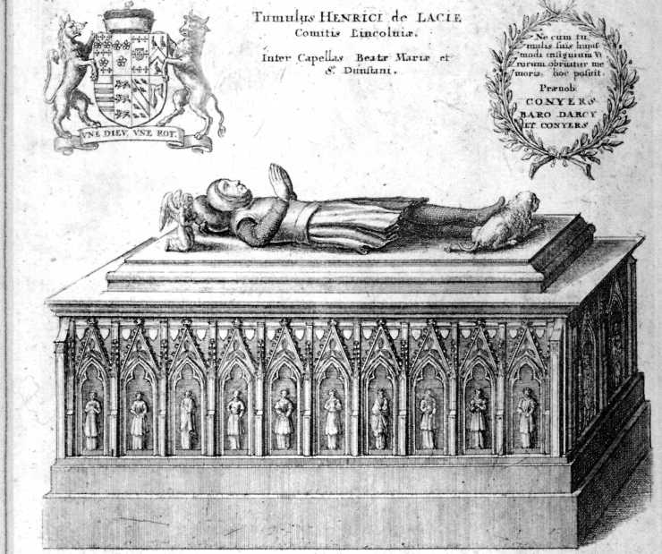 Tomb of Henry de Lacy