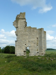 The remains of Barlings Abbey.