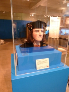 The reconstructed face of King Richard III.