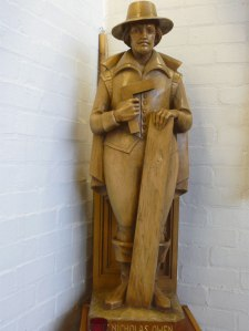 Statue of St Nicholas Owen