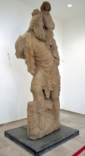St Christopher statue