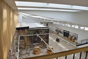 The new atrium