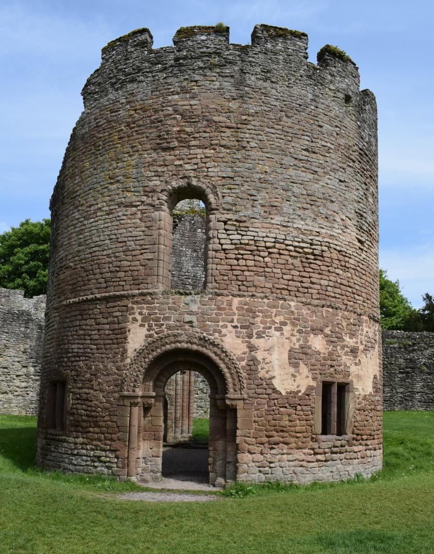 Round Chapel Ludlow Castle